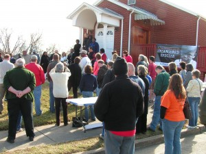 East Knoxville Rallies at True Vine Baptist Church