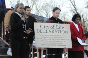 City of Life Declaration is Announced