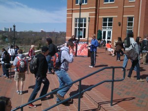 Lunch Hour at the UNCC Student Center