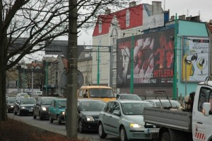 Abortion Billboard During Rush Hour (Poland)