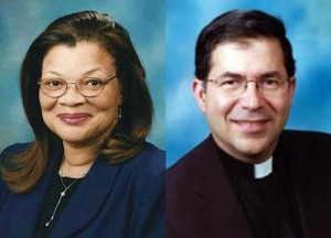 Dr. Alveda King and Fr. Frank Pavone