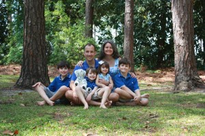 The Cooley Family: Patrick, Nicole, John (13), David (7), Abby (3), and Robert (10)