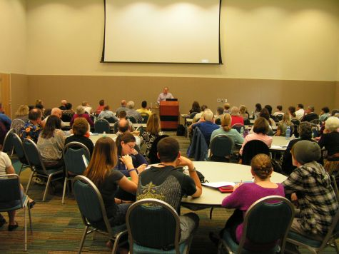 "Pro Life Training Academy at UNF.  Jay Watts explains how to ""trot out the toddler"" to diffuse pro-abortion arguments."