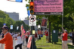 CBR takes its position along the Komen route