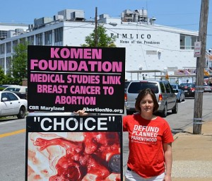 Samantha Linnemann exposes the Komen-abortion-cancer linkage.