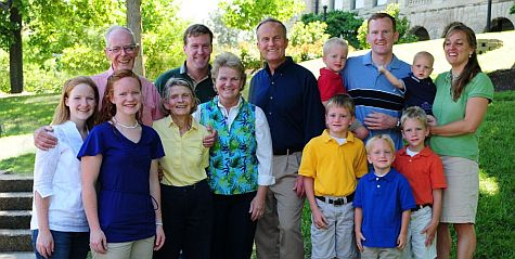 Congressman Todd Akin and Family
