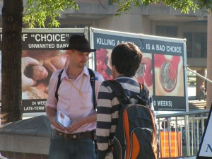 CBR Project Director Lincoln Brandenburg explains how civilized people choose life, not death.