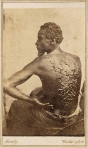 "The photo that told the story of slavery ""to the eye"""