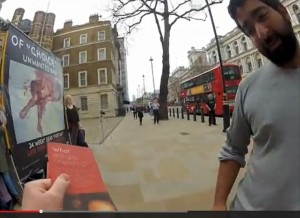 London passerby one of many who changed their minds when shown abortion photos