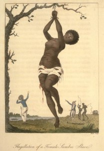 Wilberforce slavery image - whipped into submission
