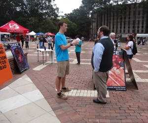 On the Brickyard at NC State