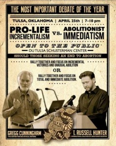 Pro-Life Cage Match:  The Tussle in Tulsa